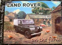KEVIN WALSH,LAND ROVER ON THE FARM